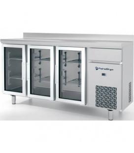 Altomostrador Refrigerado Puertas Cristal Serie 600 CR Fahostec