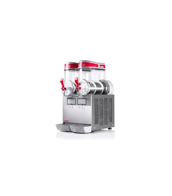 Granizadora Doble Ugolini MT Mini-2 de 6+6 Litros