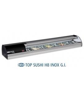 Vitrina Expositora Sushi Top H8 Comersa