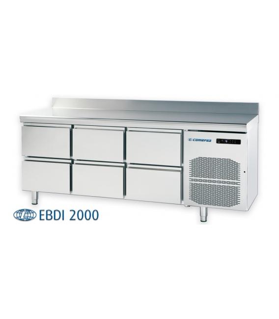 Bajomostrador Refrigerado Cajones EBDI COMERSA