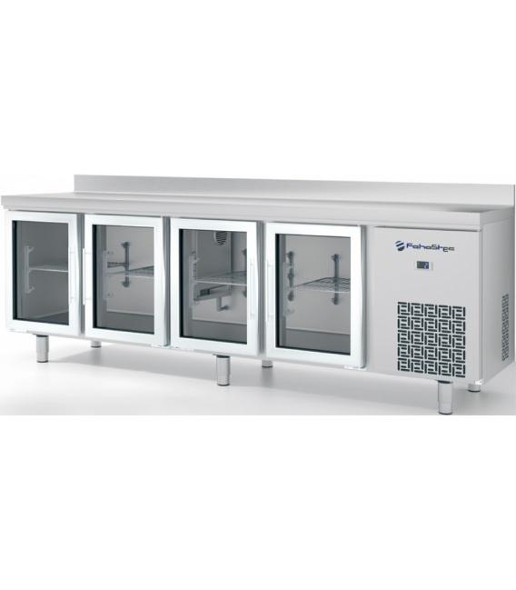 Bajomostrador Refrigerado Puertas de Cristal Serie 600 FM