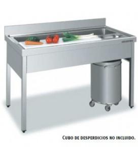Mesa de Preparación de Acero Inox para verduras Distform