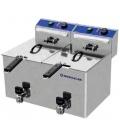 Freidora Industrial Eléctrica Doble 7+7 Litros Repagas FE-7+7M