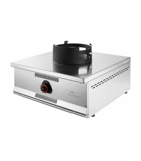Cocina Wok Industrial Sobremostrador a Gas 1 Fuego Serie ECO