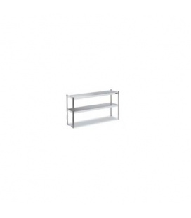Estante Sobremesa Doble de Acero Inox Distform